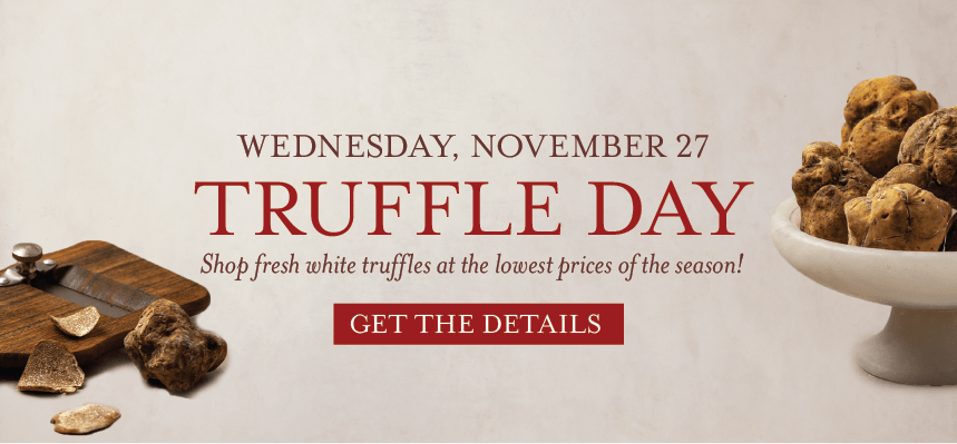 Mark Your Calendar for Truffle Day at Eataly NYC Downtown
