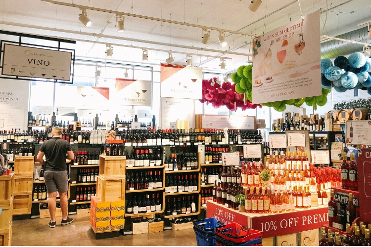 Eataly Chicago Wine Shop Summer 2019