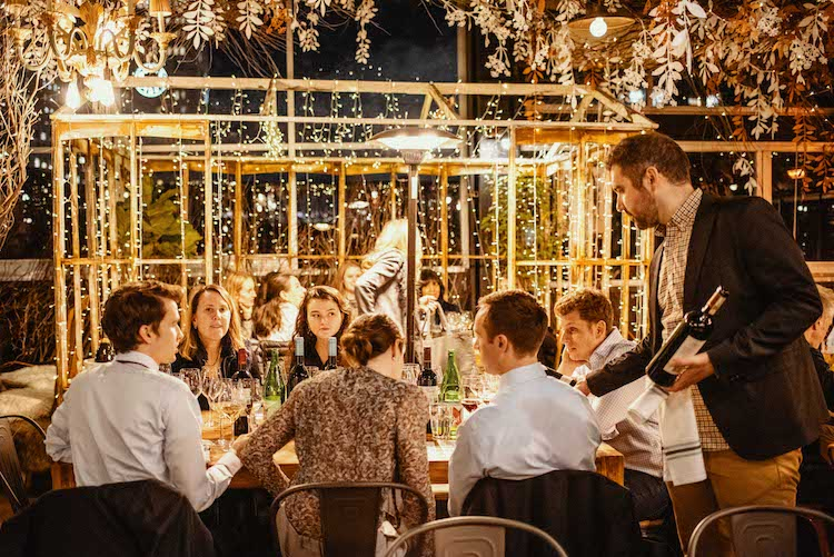Wine Dinners Under the Stars | Eataly NYC Flatiron