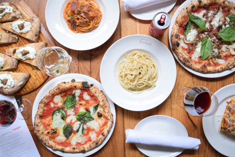 Eataly's authentic Italian pizza and pasta restaurant