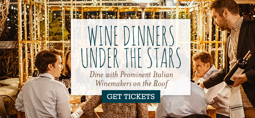 Wine Dinners Under the Stars