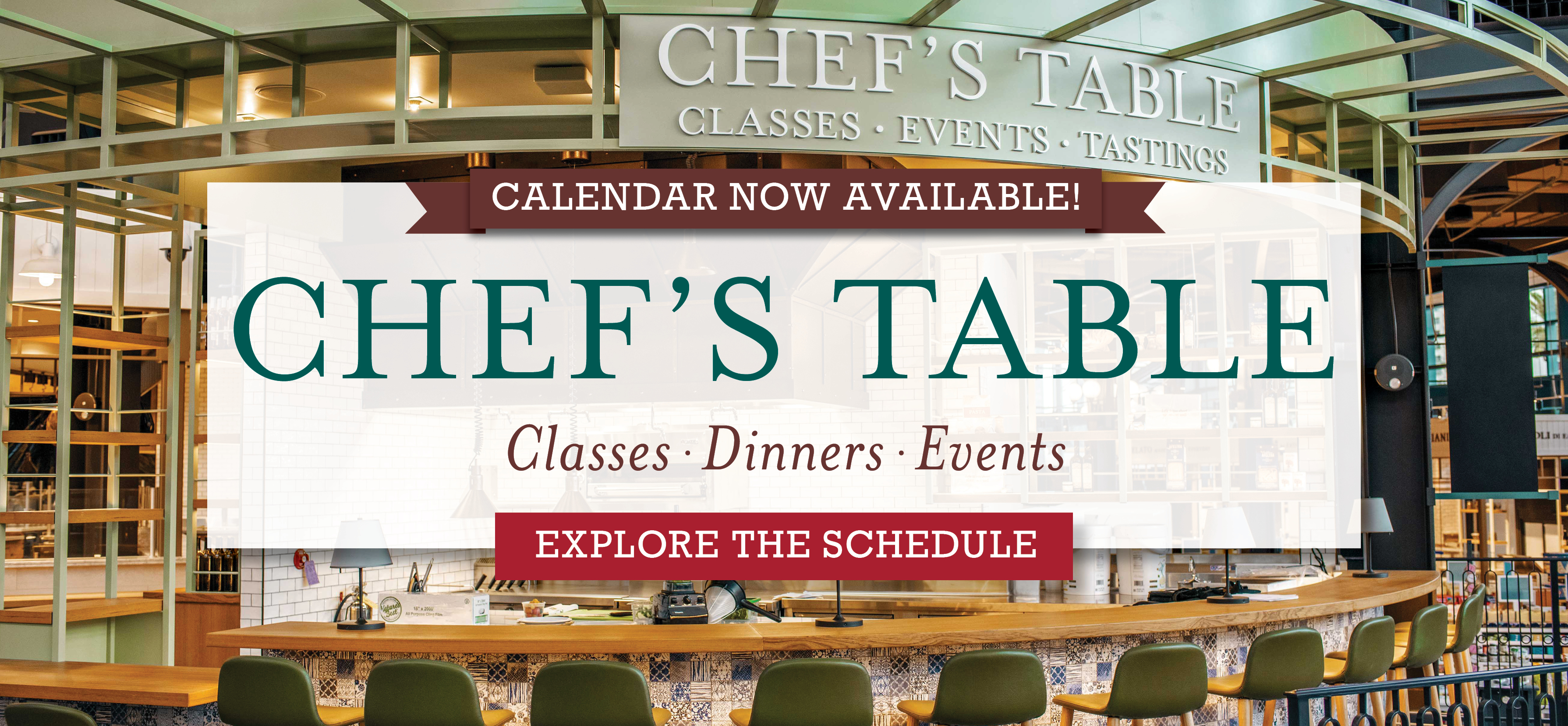Learn More About Our Chef's Table