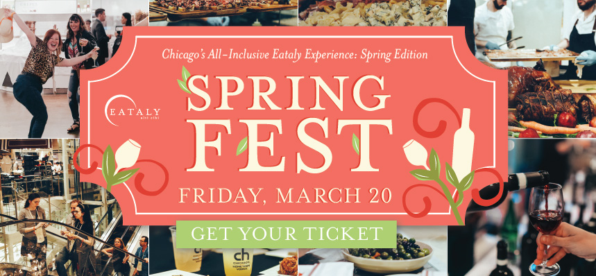 SpringFest: Eataly's All-Access Spring Event