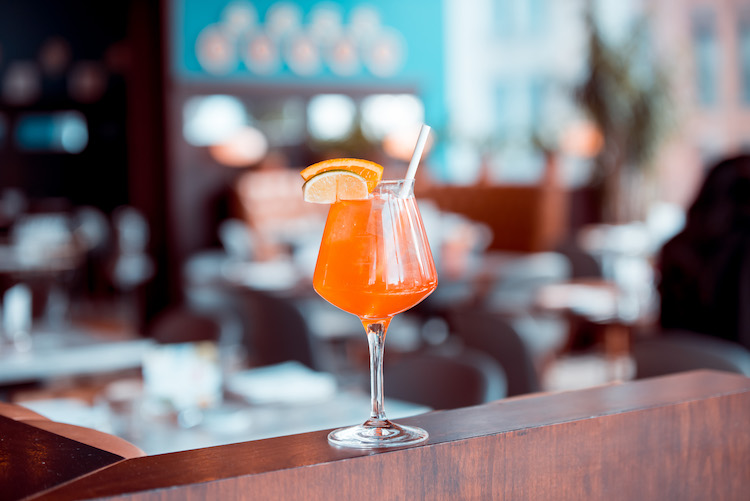 Spritz Eataly NYC Downtown Osteria della Pace