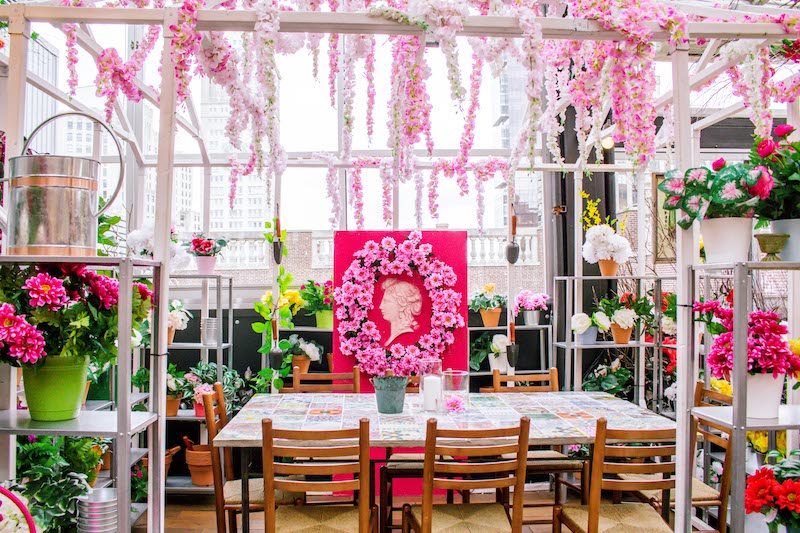 "Eataly's Serra Fiorita ""Greenhouse,"" an idyllic private dining space"