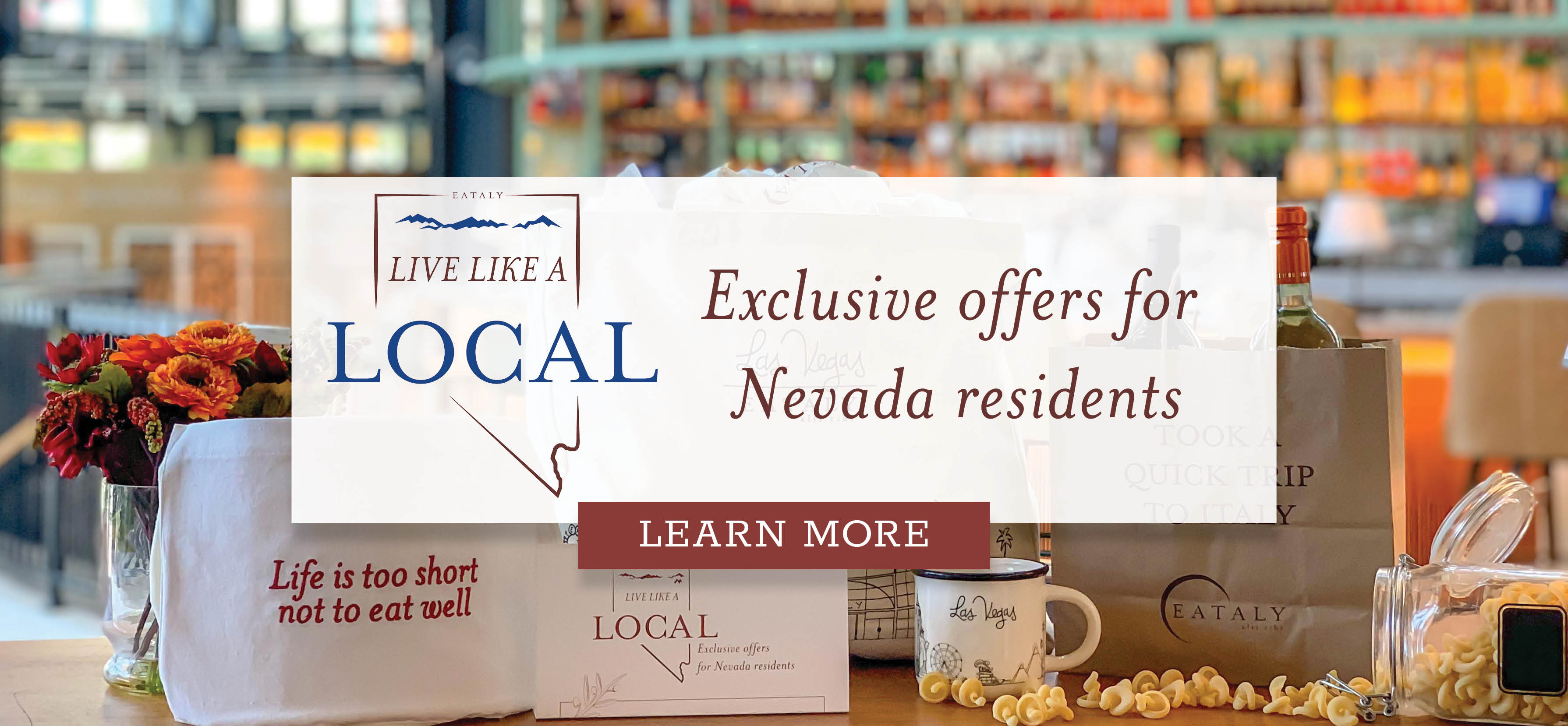 Live Like a Local at Eataly Las Vegas