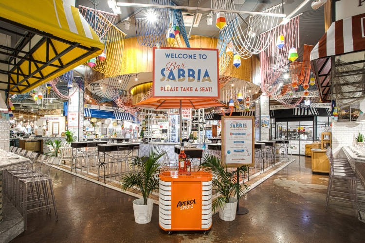 Bar SABBIA at Eataly Chicago