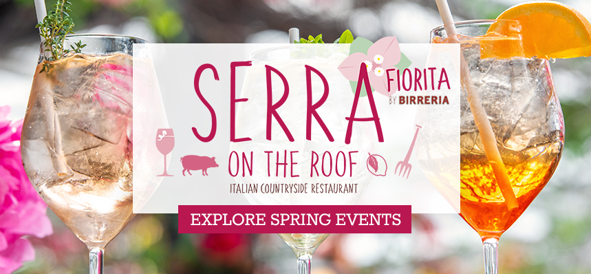 Spring Rooftop Events at Serra
