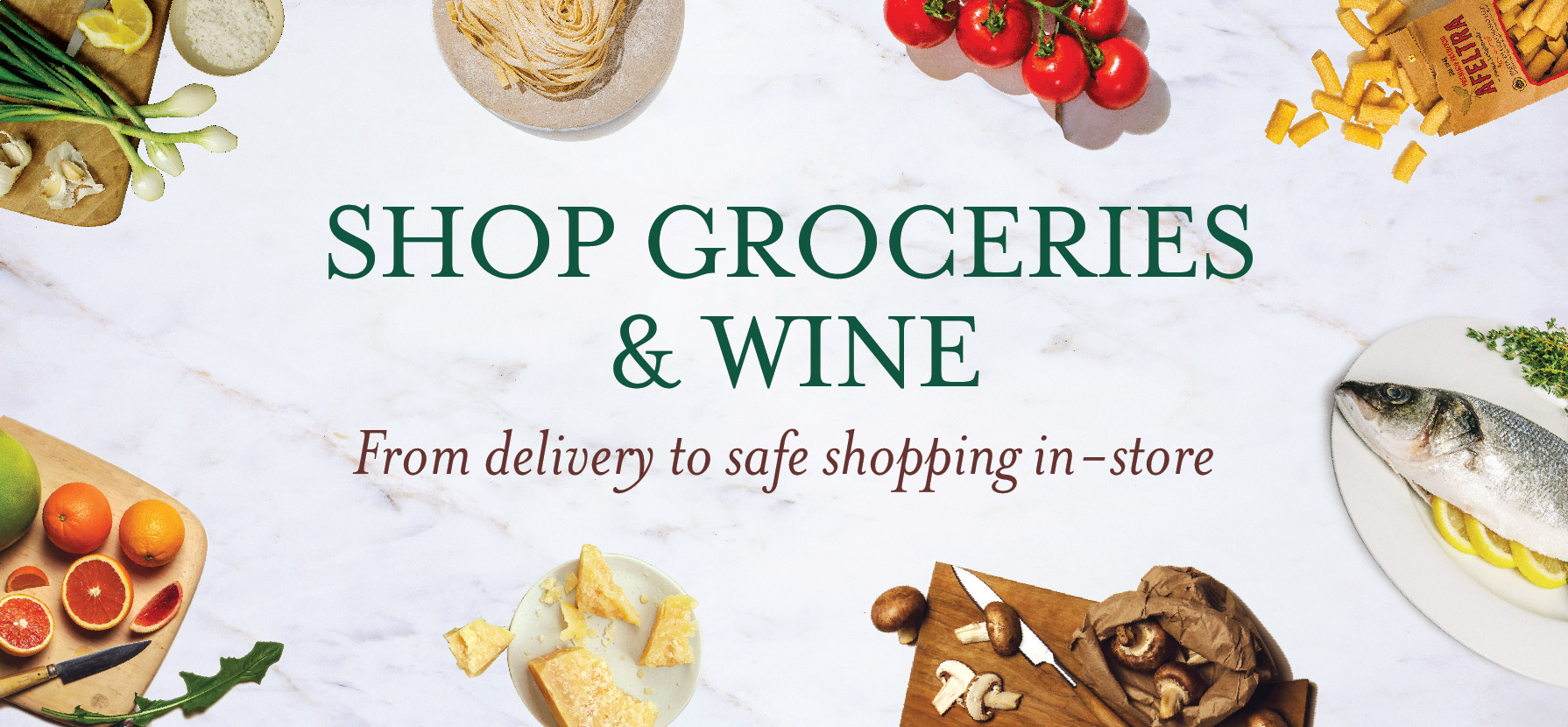Grocery & Wine Delivery