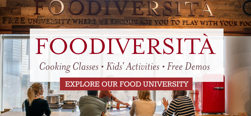 "Foodiversità: Cooking Classes and Workshops at Our ""Food University"""
