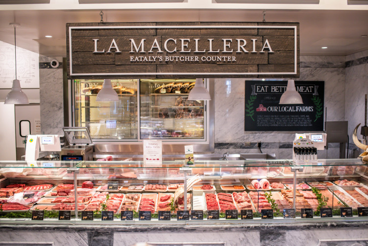 Butcher Counter at Eataly Los Angeles