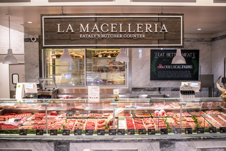 Butcher Counter Eataly LA