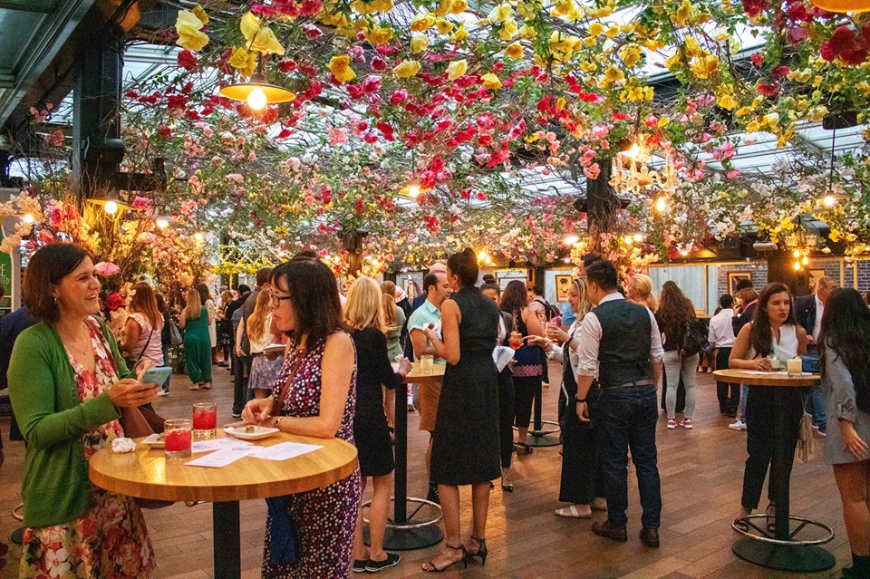 Summer rooftop party at Eataly Flatiron NYC