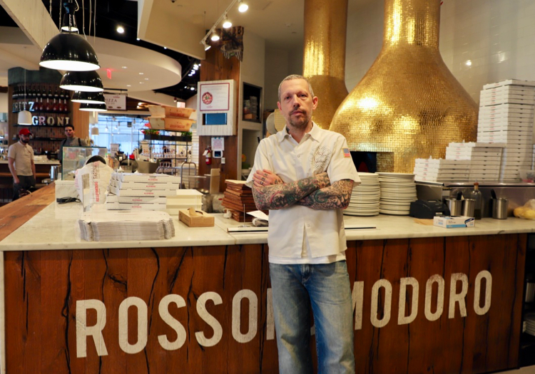Chef Anthony Mangieri at Eataly NYC Downtown