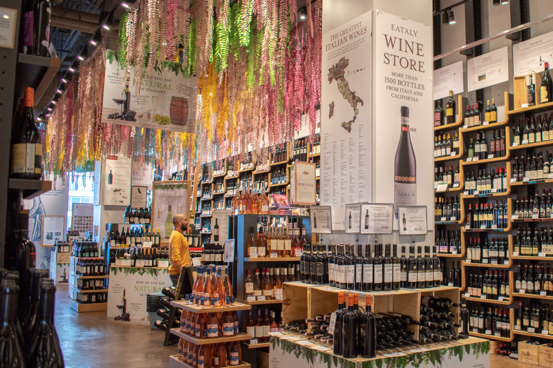 Vino Day at Eataly LA