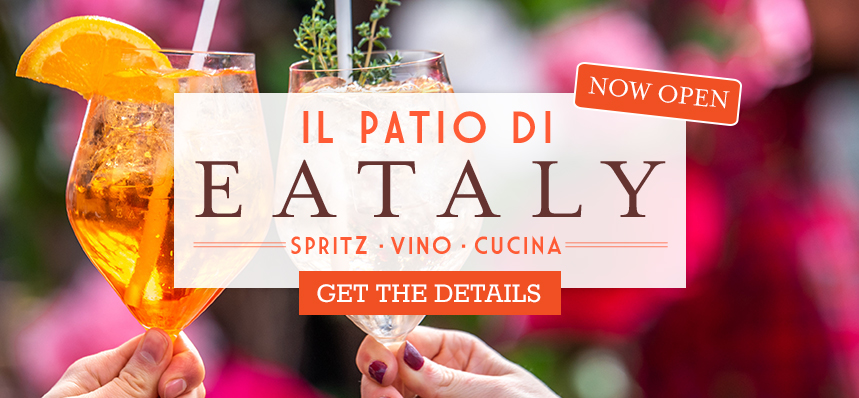 Eataly's Patio | Chill Out on Boylston Street This Summer