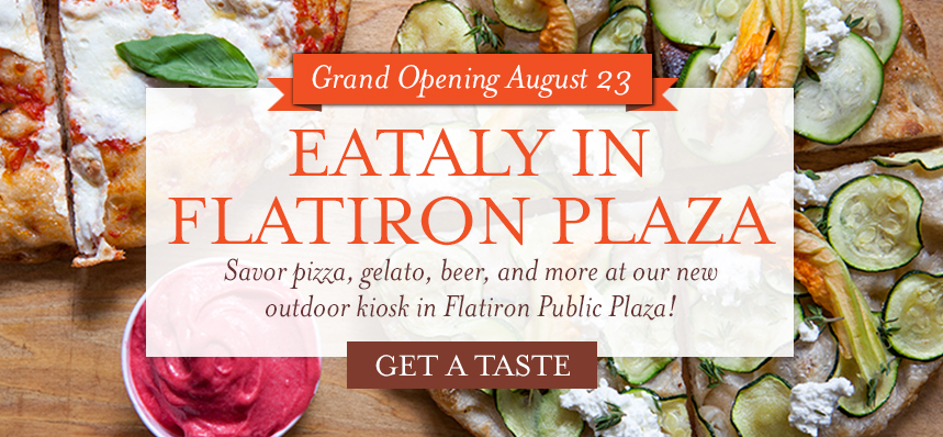 Eataly NYC Flatiron is Headed Outdoors
