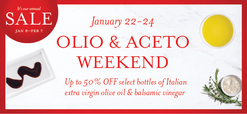 Celebrate Olio & Aceto Weekend at Eataly Chicago