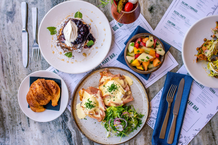 Brunch at Eataly Los Angeles