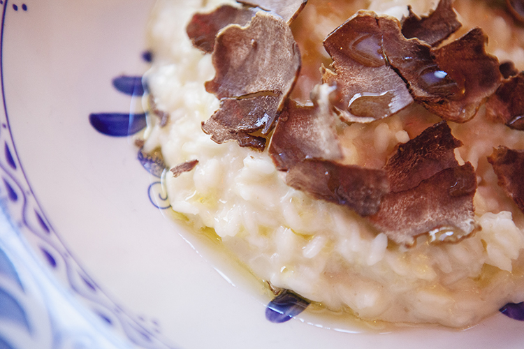 risotto with truffles Eataly