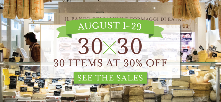 30X30: 30 Items at 30% OFF