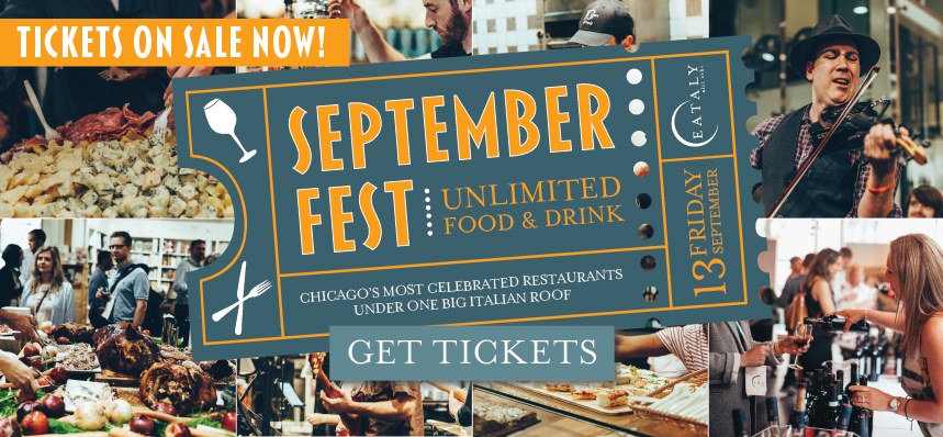 SeptemberFest: The All-Access Eataly Experience