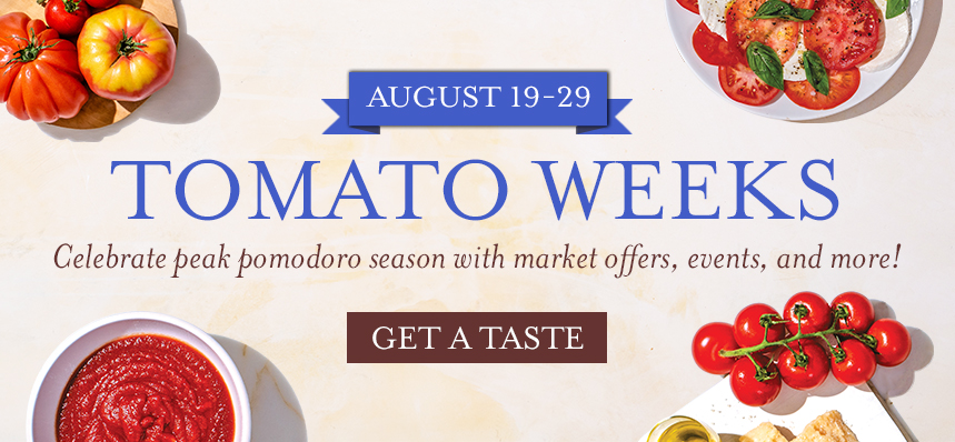 Tomato Weeks at Eataly NYC Downtown