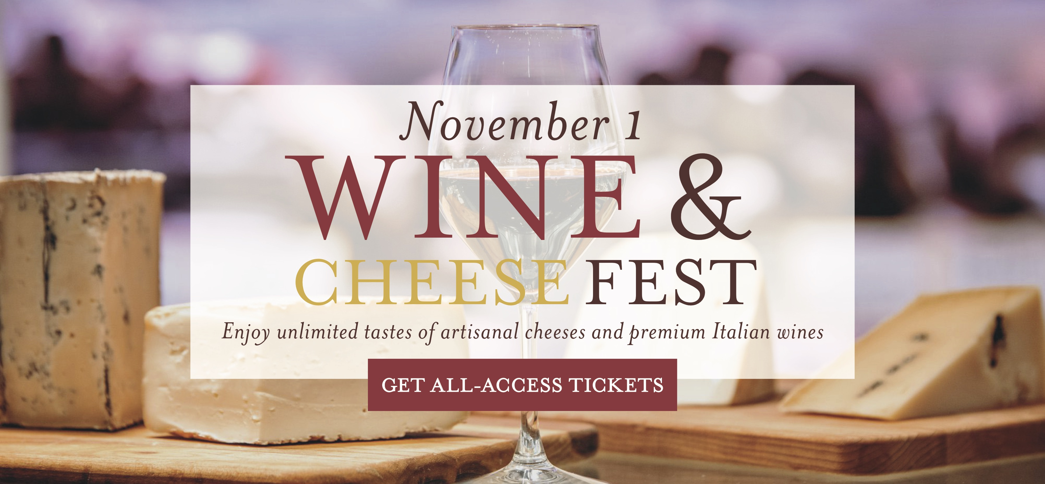 Wine and Cheese Fest at Eataly Las Vegas