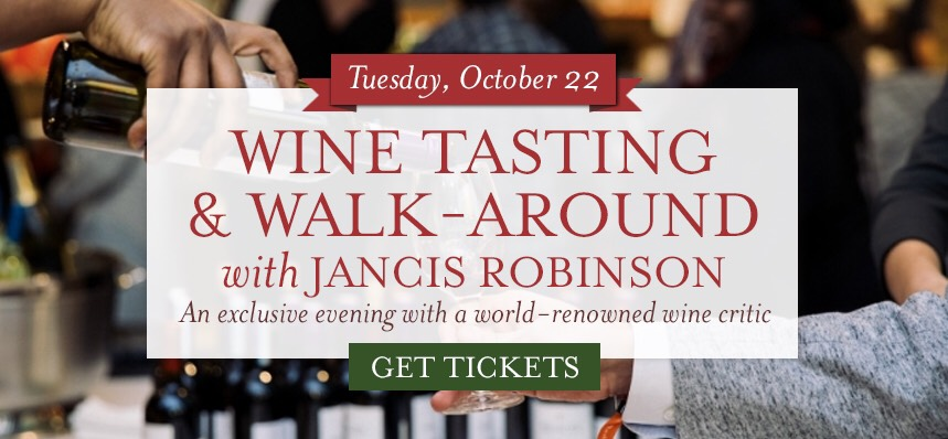 An Evening with Jancis Robinson