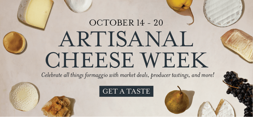 Artisanal Cheese Week at Eataly NYC Downtown
