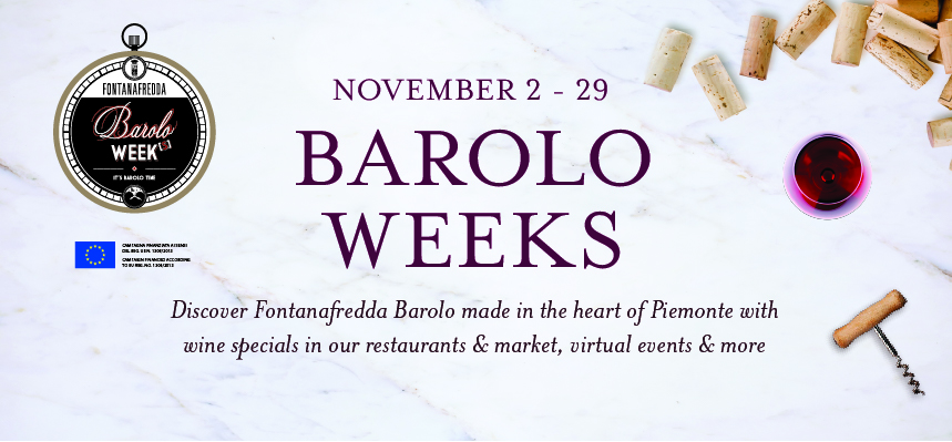 Celebrate Barolo Weeks at Eataly NYC Downtown