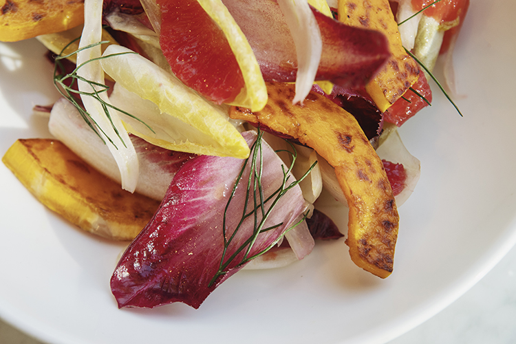 Endive Salad with Roasted Squash Recipe