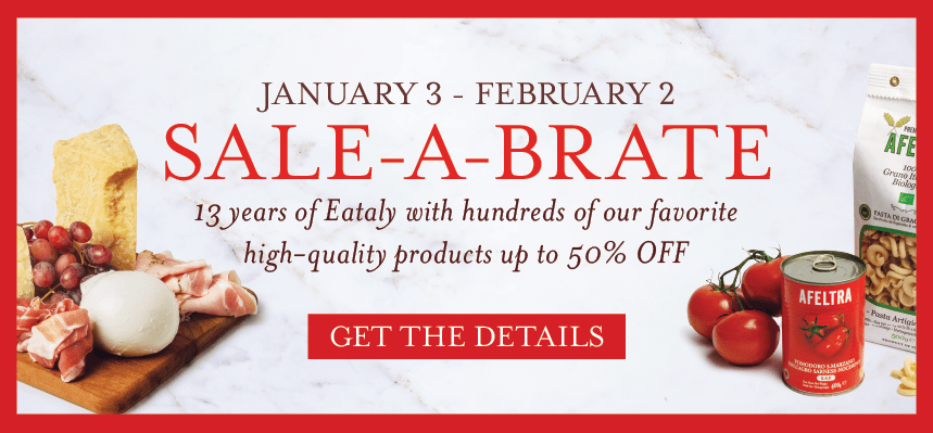 SALE-A-BRATE at Eataly Los Angeles