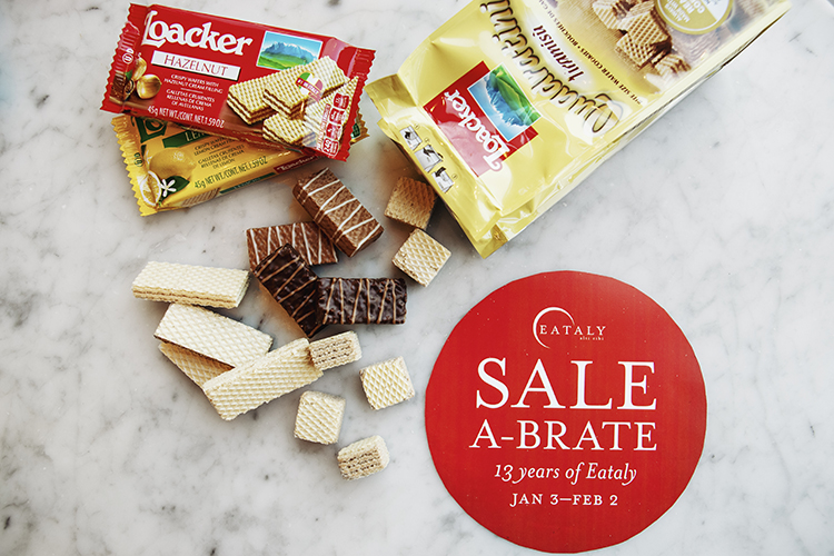 SALE-A-BRATE at Eataly NYC Flatiron