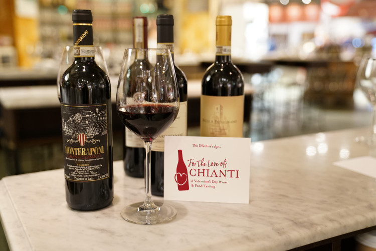 For the Love of Chianti Tasting