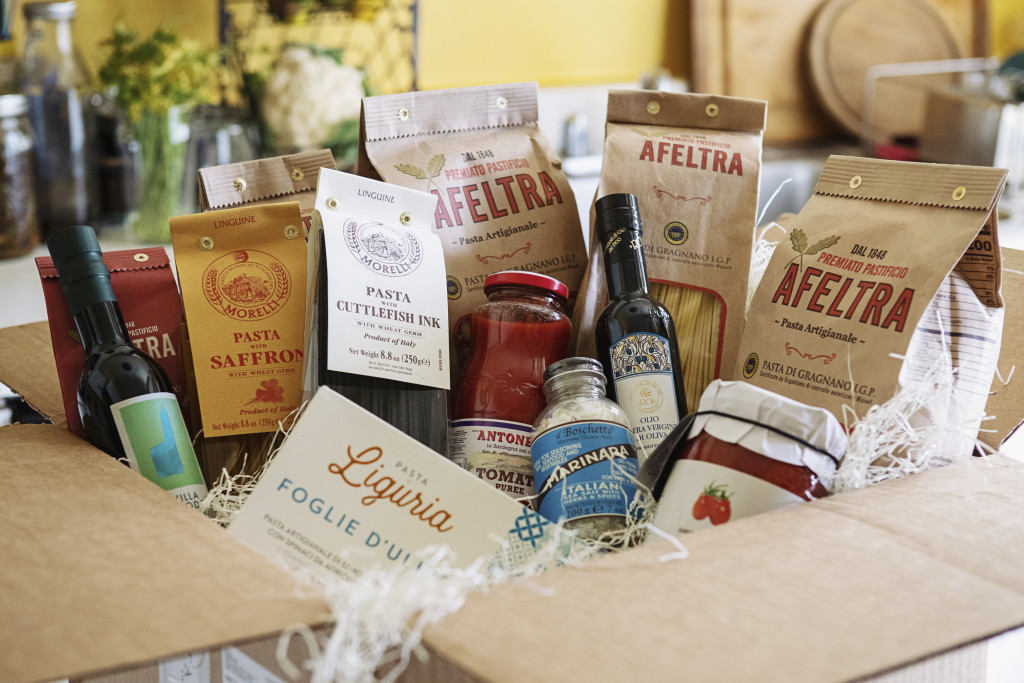 Eataly online grocery package delivered