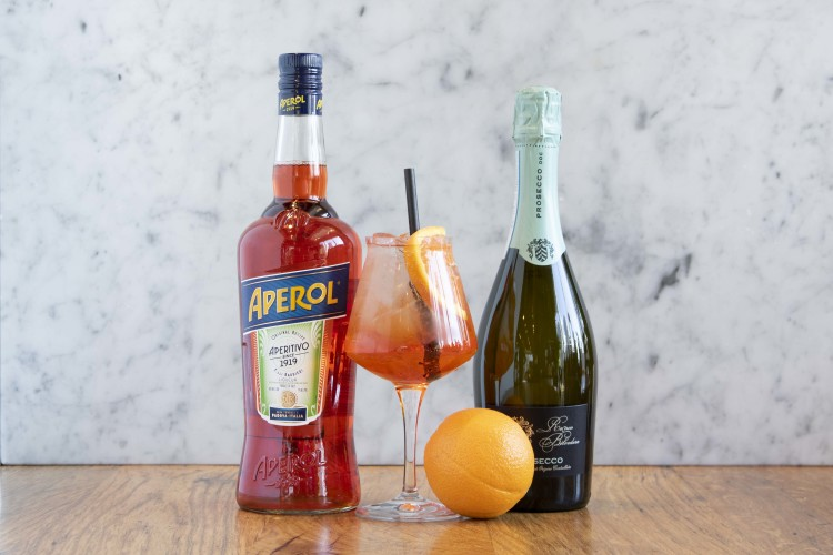 aperol spritz cocktail delivery Eataly
