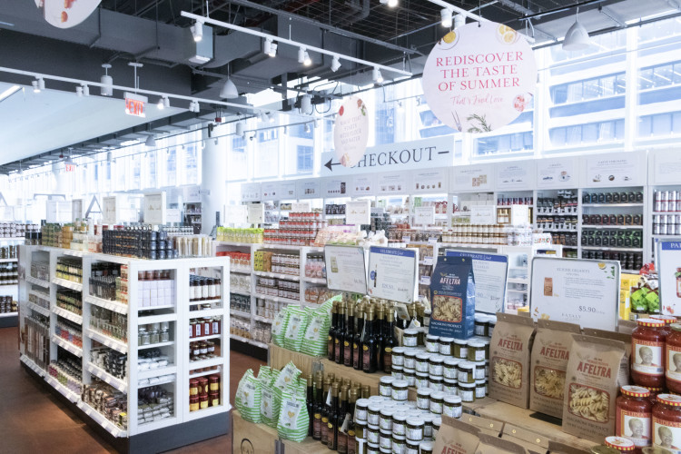 Eataly NYC Downtown grocery shopping