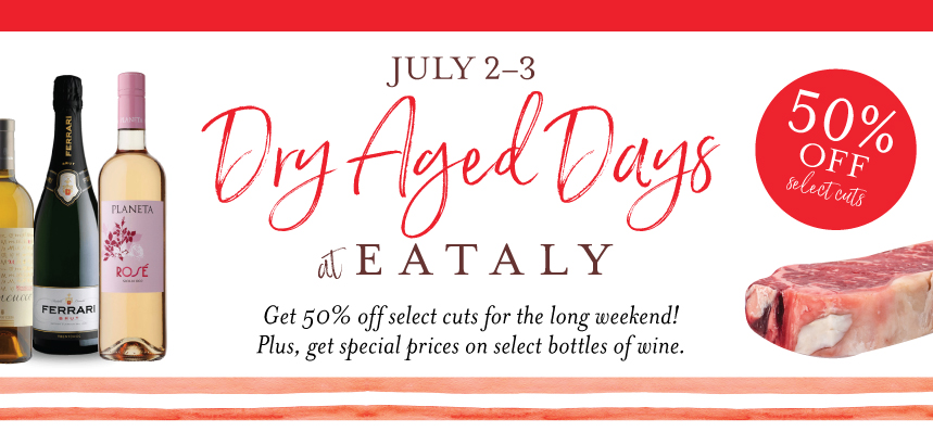 Dry-Aged Days at Eataly Chicago