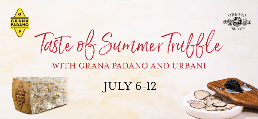 Celebrate Summer Truffles at Eataly Downtown