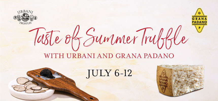Celebrate Summer Truffles at Eataly L.A.