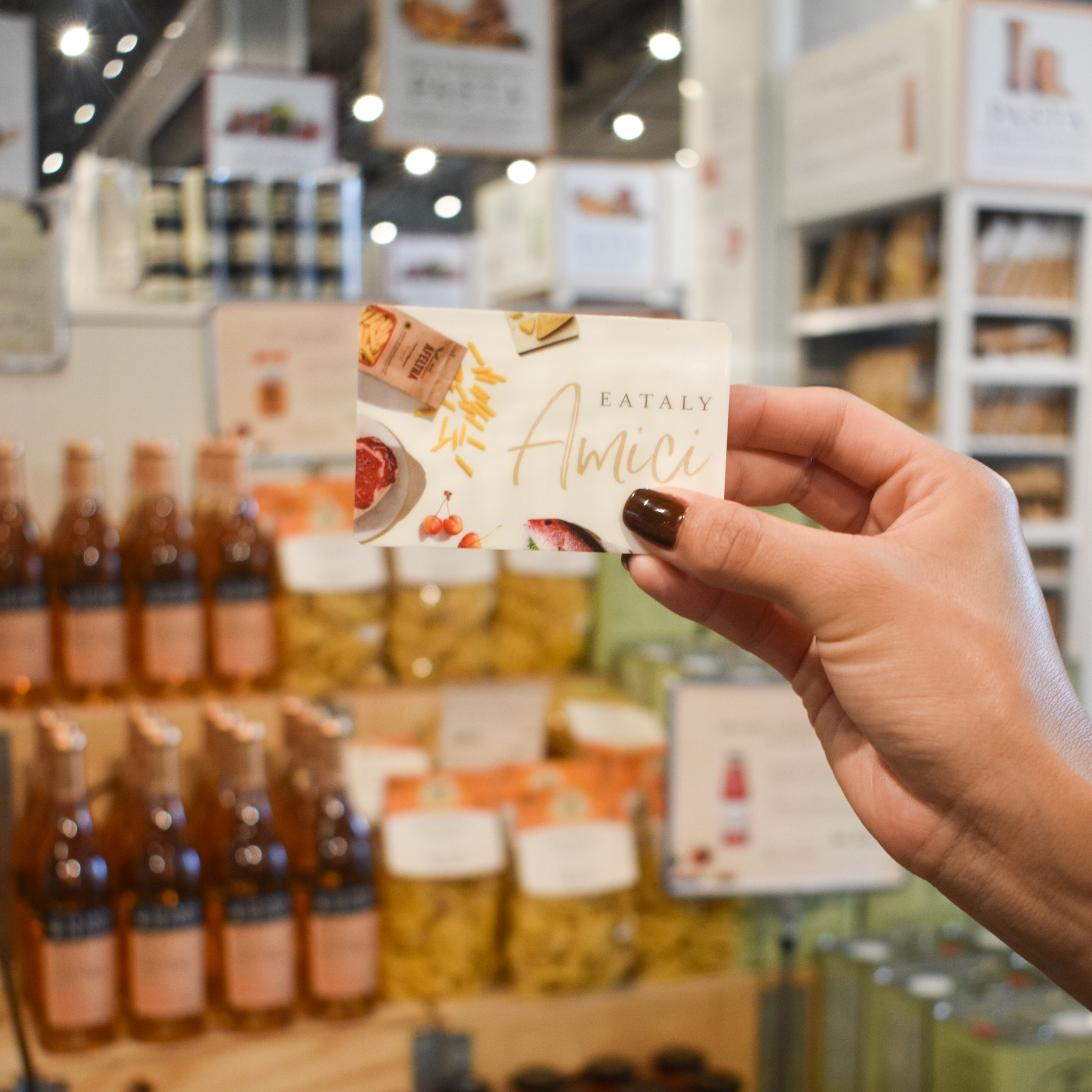 Eataly Amici Perks Program