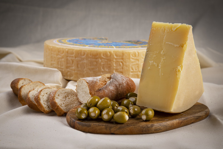 Piave cheese platter