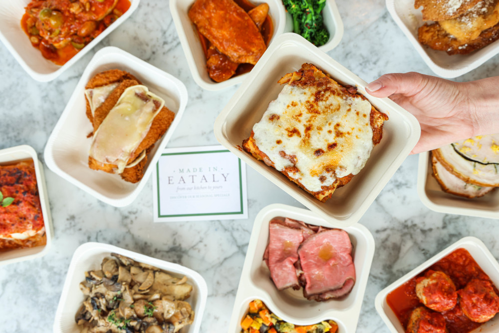 Eataly meal kits and ready-to-eat dishes