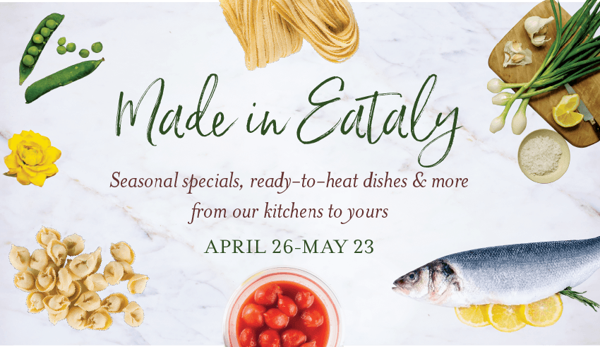 Made in Eataly Meal Kits at Eataly L.A.