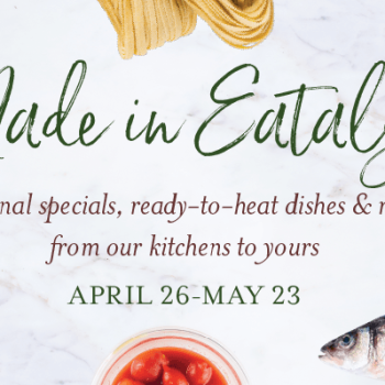 Made in Eataly Meal Kits at Eataly Dallas