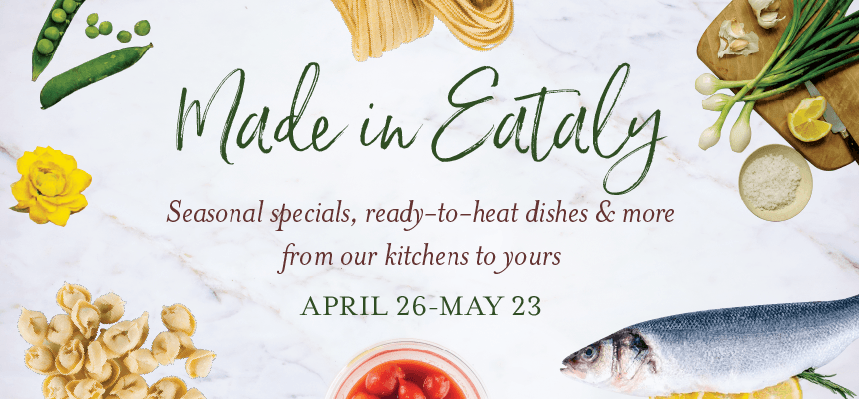 Made in Eataly Meal Kits at Eataly Chicago