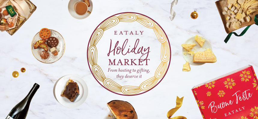 2020 Holiday Market at Eataly Flatiron