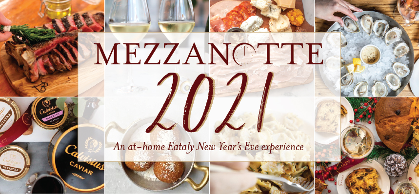 Mezzanotte 2021: A New Year's Eve At-Home Experience