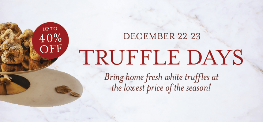 Truffle Days at Eataly L.A.